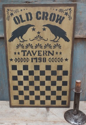 Primitive Checkerboard - Old Crow Tavern
