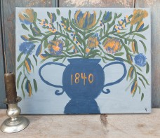 Folk Art Painting - Marmalade 1840