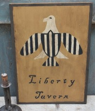 Primitive Sign - Liberty Tavern Eagle