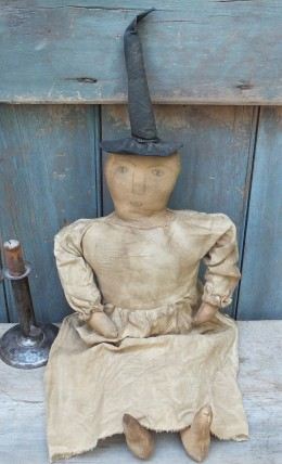 Primitive Witch Doll -  Miss Thistlewaite