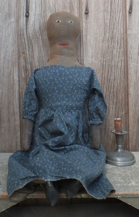 Primitive Cloth Doll - Beulah