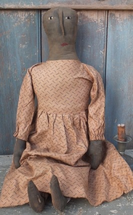 Primitive Cloth Doll - Petula