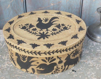 Folk Art Box - Petroglyph