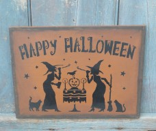 Wood Sign - Happy Halloween