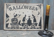 Wood Sign - Halloween