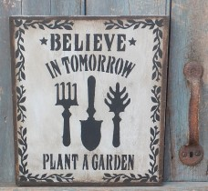 Primitive Sign - Garden
