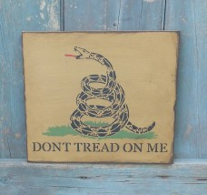 Primitive Sign - Gadsden Flag
